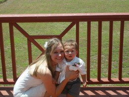 Courtney and Jaxon