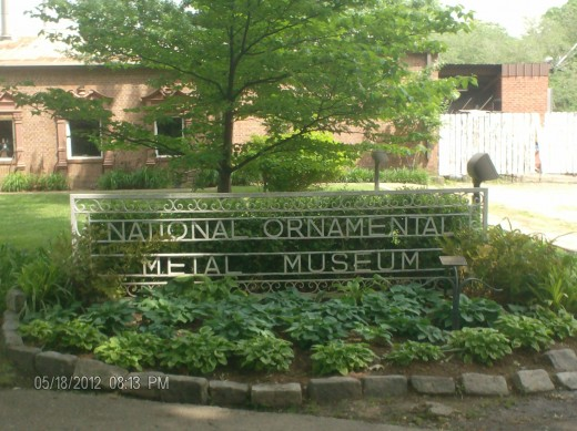 The Memphis Metal Museum and the National Ornamental Metal Museuml.
