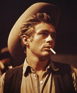 James Dean In The Film 'Giant '1955