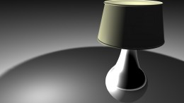 I wanted to model my touch lamp and make an abstract picture.