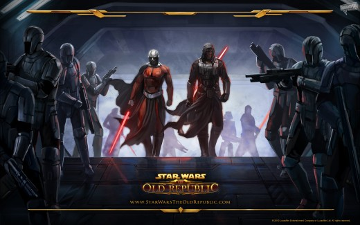 Star Wars the Old Republic: Malik and Revan