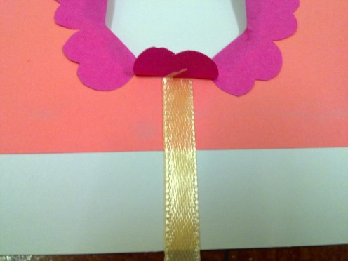 paste a ribbon horizontal straight line