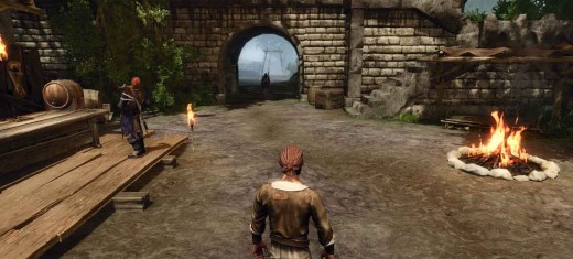 Risen 2 - the question of where Chani is solved as the hero faces the North Gate at Puerto Isabella and heads out to find Chani and the third crew member