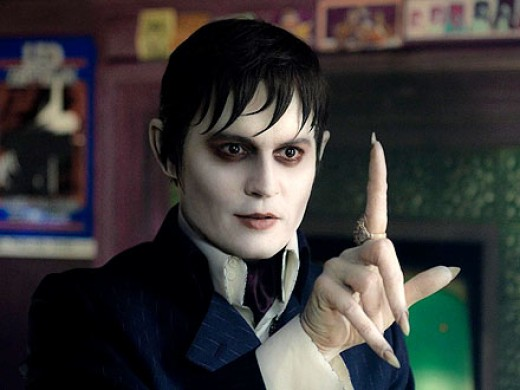 Johnny Depp stars as Barnabas Collins in this updating of the classic soap opera Dark Shadows