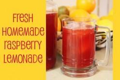 How to Make Homemade Raspberry Lemonade