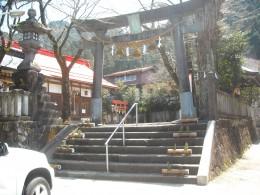 One of many Shinto shrines in Gujo City.