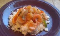 Kids Cook Monday: Garlic Shrimp and Rice Recipe