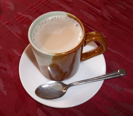 A cup of well brewed tea