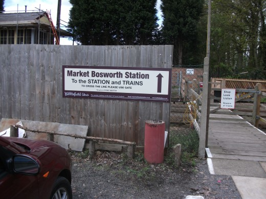 Welcome to Market Bosworth Station