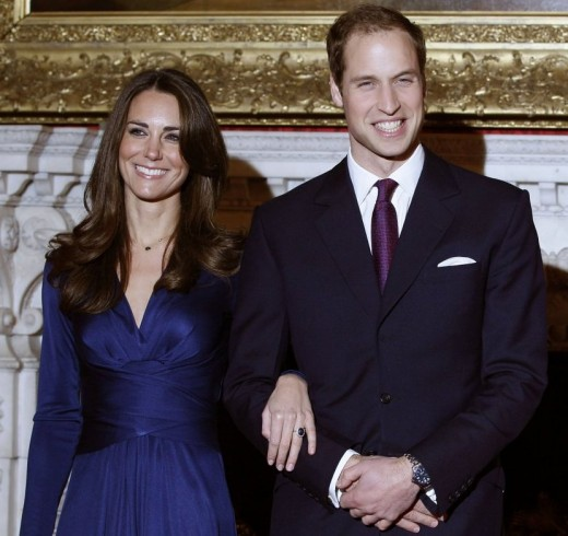 As Prince William and Kate Middleton faced the world for the first time, officially together, on display was the stunning engagement ring that has been a part of the family heirloom.