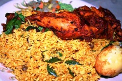 Chicken Biryani Rice Recipe.