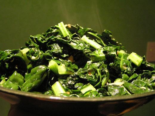 Foods Rich in Calcium - Kale