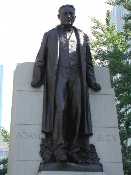 Statue of Sir Adam Beck, University Avenue & Queen Street, Toronto