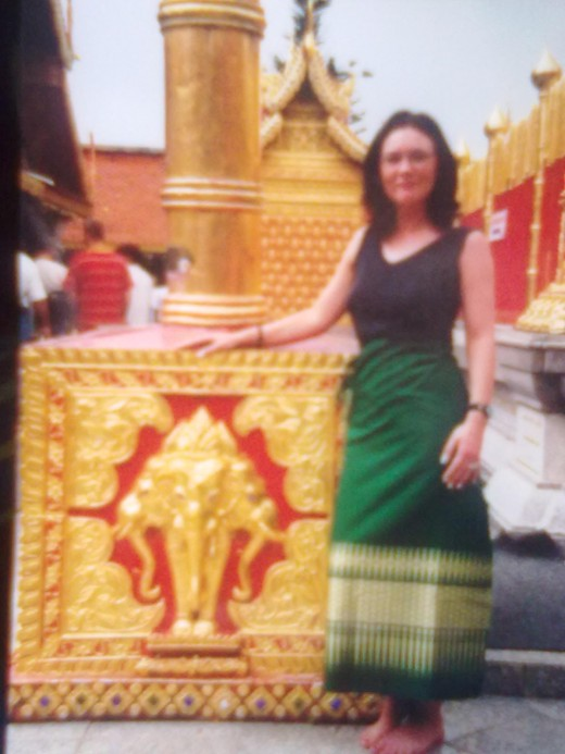 Me at The Grand Palace grounds 1999