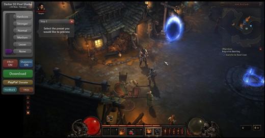 Screenshot of DarkD3