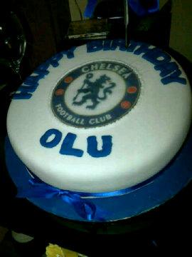 Chelsea team cake