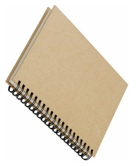 Write your thoughts on a notebook