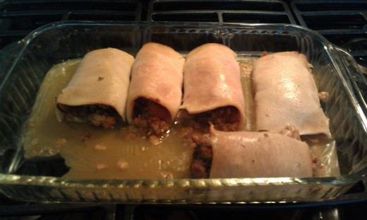 Turkey & Stuffing Rollups