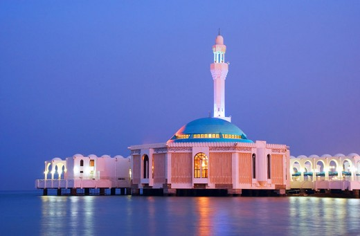 Mosque on the Red Sea
