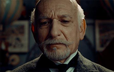 Ben Kingsley as Georges Méliès