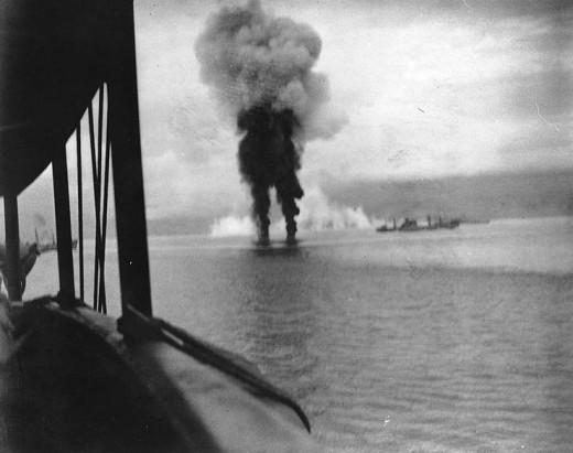 Naval Bombardments in the Battle of Guadalcanal