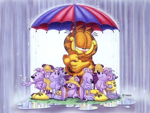 Love is Sharing an Umbrella