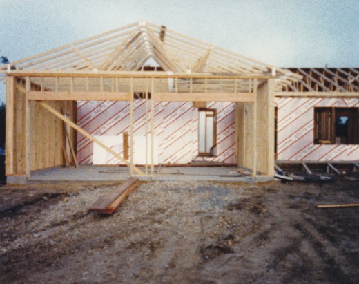 New home under construction