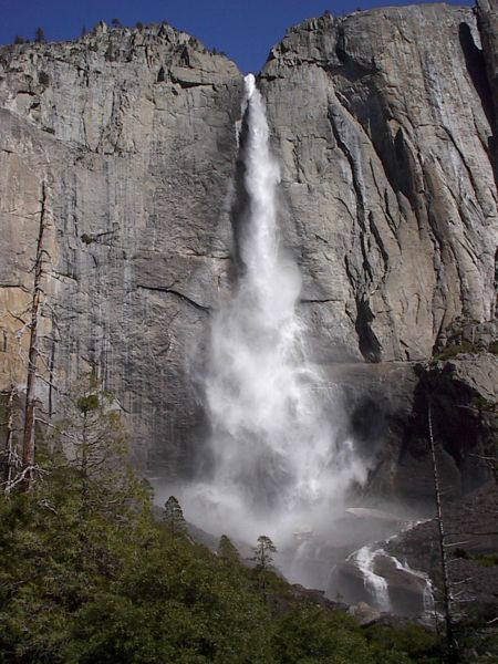 One of the breathtaking falls in Yosemite National Park
