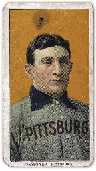The 1909 T-206 Honus Wagner