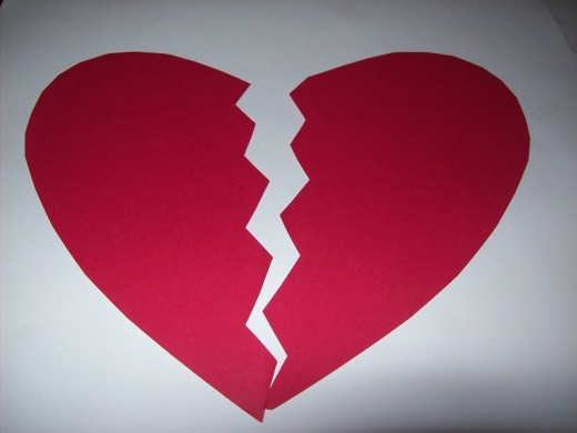 The broken hearted recognize each other through their pain