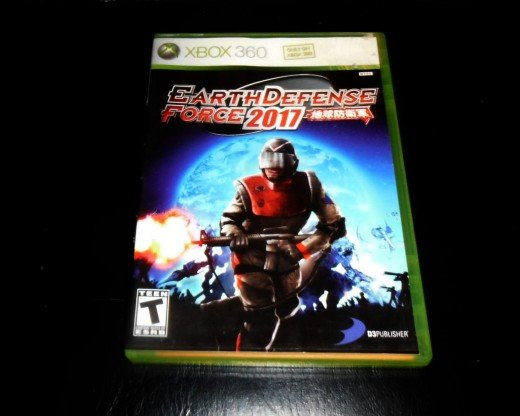 My copy of Earth Defense Force 2017