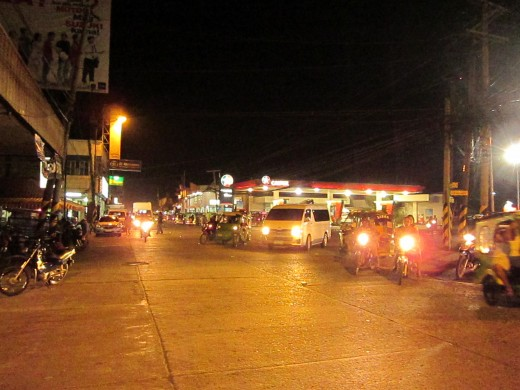 Tagum City  ISO 1600 Canon Powershot A1200