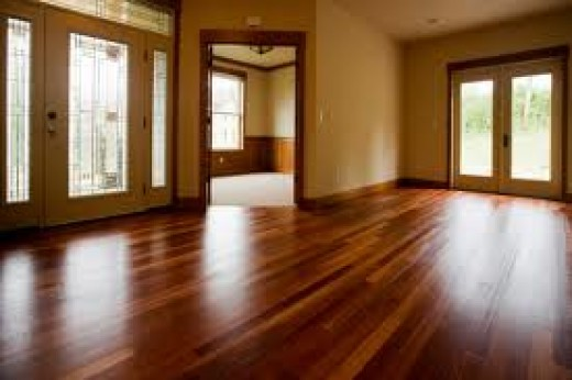 Wood flooring can instantly add value to your home.