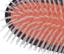 Nylon brush for very thick hair