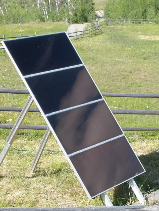 Located off the power grid, the ranch uses solar panels linked to Grundfos power boxes to change solar energy into electrical energy for pumps in the paddocks and machines in the buildings.