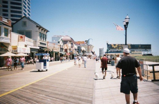Don't buy all your food from the boardwalk restaurants.