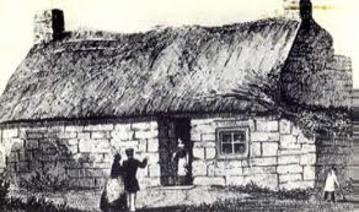 Beginnings - Birthplace at Marton-in-Cleveland (as opposed to two others in the same area) of James Cook in October, 1728