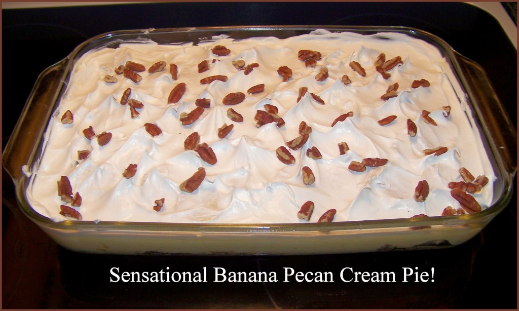 Sensational Banana Pecan Cream Cheese Pie | hubpages
