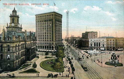 Campus Martius in 1914