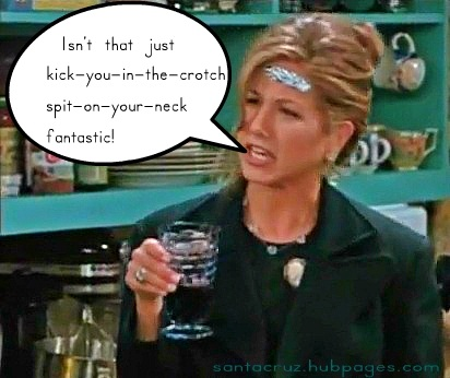 Rachel dissembles her disappointment about Ross's new relationship.