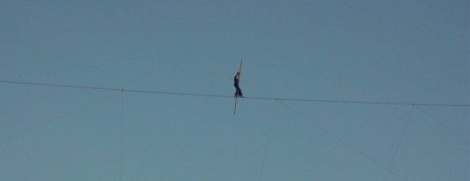 Niagara Falls Tightrope Walker Jay Cochrane in 2007