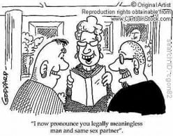 Gay Marriage;  Good for Divorce Lawyers