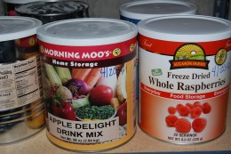 Freeze-died preparedness meals are available now, but will become scarce once the SHTF.