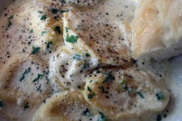 Pasta with Herb Sauce