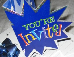 It all starts with an invitation...