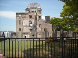 "The ""Genbaku"" A-Bomb Dome."