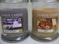 Man Candles at Yankee Candle