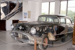 Trujillo's car in which he was riding when assassinated