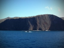 Rocky cliffs of Lanai