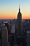 Empire State Building 102 stories high opened on  May 1, 1931